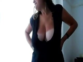Tanlines and sex Mysterr - mom shows her tanlines