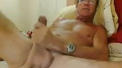 PREVIEW Sexy huge balls daddy masturbates