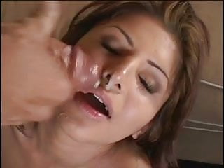 Best bust mature Guys busts their nuts all over girls face