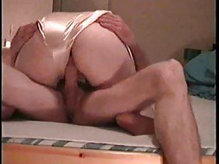 Boobs in satin Bbw mature wife ride in satin panties