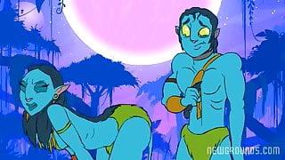 Hot Na'vi Sex - ANIMATION Avatar