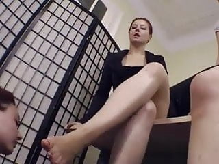 Teen worship 2 Lesbian slave worship 2 mistress feet