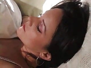 Brunet tits - Brunet bed time play