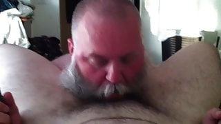Sucking a friend in a sling