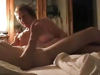 Caught mum having sex Caught my mum having fun with her younger lover. hidden cam