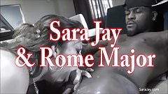 Interracial Slut Sara Jay Gets Throat Fucked By BBC
