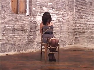 African woman pissing on chairs Woman on chair