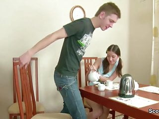 When teens kill their parents - Stepbro seduce step-sis to fuck anal when parents away