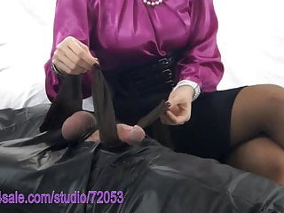 Domination and denial Pantyhose tease and denial