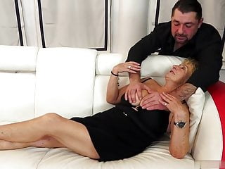 Delicious young pussy Delicious cocktail and young dick in grandma malias pussy