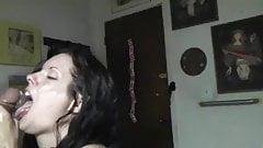 bbc interracial cumswallow