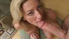 Milf gets fucked and then sucks some more