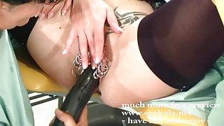 Xtreme pierced fist slut