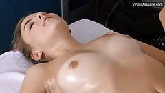 Virgin Litonya has incredible orgasms