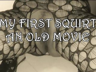 Blowjob pissing movie - My first squirt old movie