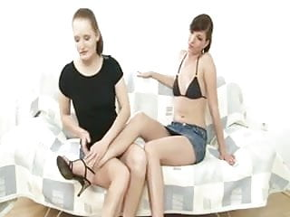 Sexy lesbian foot worship movies - Sexy foot worship