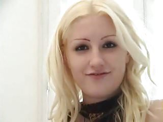 Blonde thick dildo Thick plug for the pussy