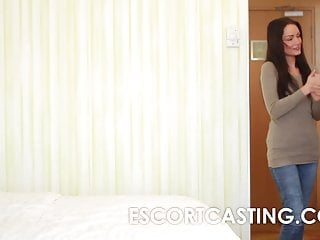 Escort in kings lynn - Hidden cam casting of milf escort in hotel with client