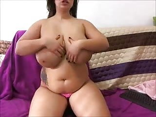 Breasts on girls Bbw with massive breasts and beatiful face