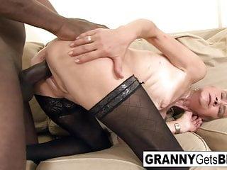 Xxx interracil clips Hot interracil compilation from granny gets bbc