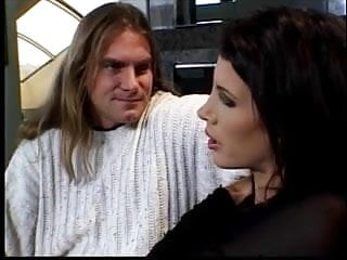 Superman breasts fucked - Brunette with great breasts fucked