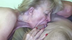Granny fucked by the painter!