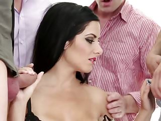 Free sex videos with gang bangs - A.b. gang bang bukkake
