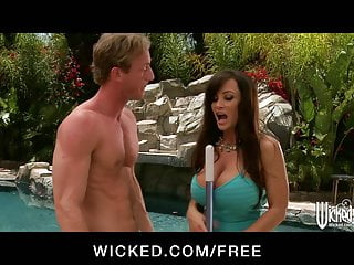 Ann margret boobs Wicked - big-boobed brunette milf lisan ann fucks young cock
