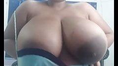Monster Latina Tits with Big Areolas 2