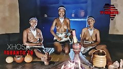 Topless South African girls talk about spirits