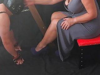 Femdom mistress slave Femdom mistress makes sissy a pussy worshipping slave