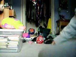 Teen web cam sluts - Hairy girlfriend on web cam