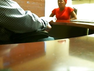 Amateur job interview Ebony blowjob during job interview real