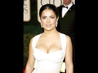 Salma hayek nude naked boobs topless Salma hayek jerk off challenge