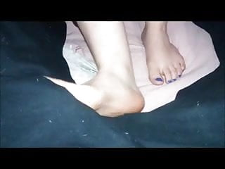 Smal dick humiliation Footjob handjob friend melinda smal
