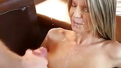 Gina Gerson Cumshot in the Face