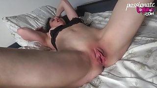 Horny MILF Passionate Masturbate during Watching Porn