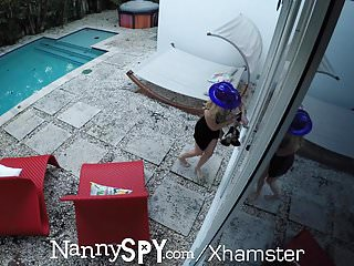 Girl knights fuck - Nannyspy sneaky nanny anastasia knight new years eve fuck