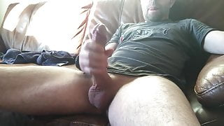 Masturbing cumshot 3