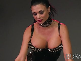 Xxx bdsm clip - Bdsm xxx mistress treats her sub boy to a blowjob