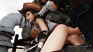 Tifa Chan Double Penetrated By Shinra Soldiers