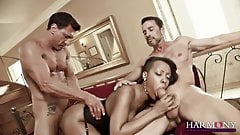 HARMONY VISION Gorgeous Ebony wants them big