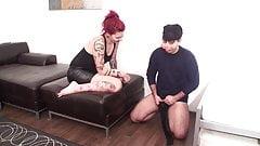 madama louise humiliate maskjoe with JOI