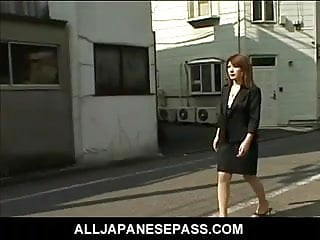 Kiss with cum - Horny japanese babe with cum on her big tits