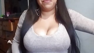 Amateur Latina MILF  And Her Toy