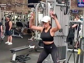 Nicole scherzinger lingerie Nicole scherzinger sexy gym workout