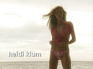 C-through bikini - Heidi klum more see-through photoshoot