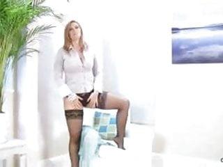 Shemale leona andrev dvd Mature cougar leona lee couch solo