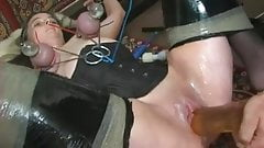 Kinkycore: Milking pumped nipples and squirting