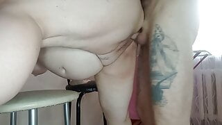 fucked my wife doggystyle and finished in her pussy 2